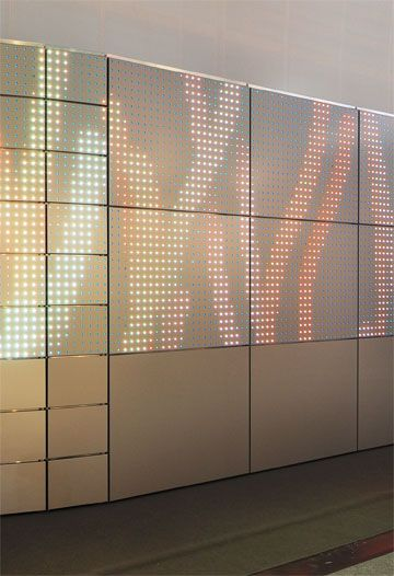 Media Facade By Swiss Manufacturer Alucobond Acp Architektur