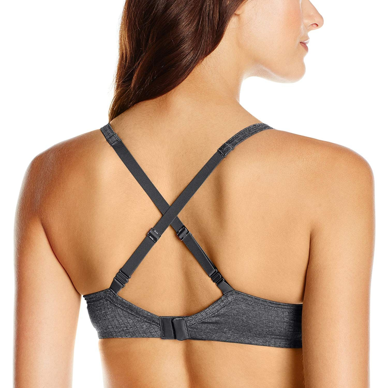 Hanes Womens Ultimate Comfy Support Underwire Bra