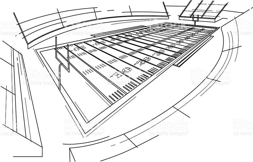 Football stadium stock illustration download image now