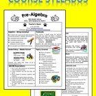 Editable Course Syllabus Template For Interactive Notebook BackTo