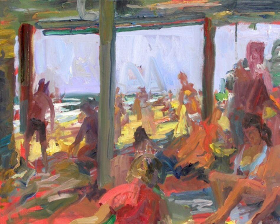 "stuartshils: ""in memory of painter dennis aufiery, 1947-2015 """