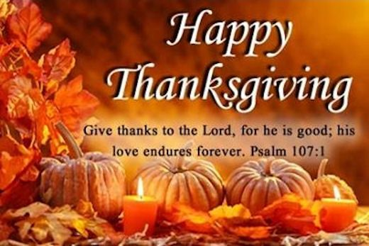 Happy Thanksgiving Religious Messages >> Happy Thanksgiving Give Thanks To The Lord Quotes Happy