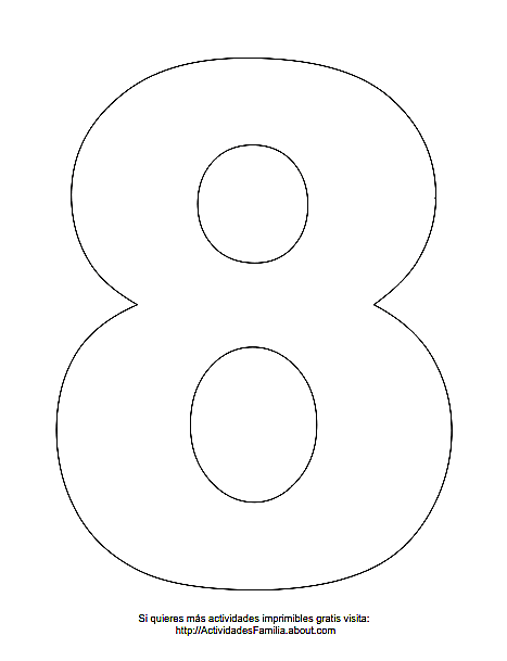 Numeros Para Imprimir Y Colorear Numero Para Imprimir Numero Para Colorear Imprimir Sobres