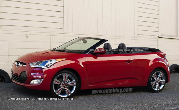 Could The Hyundai Veloster Go Topless? [w/poll]