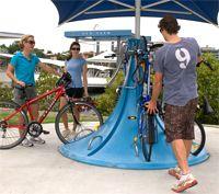 Bike parking and facilities   Brisbane City Council