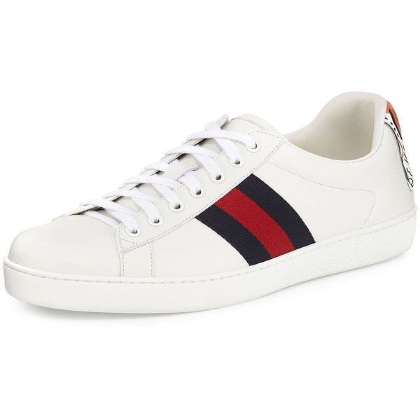 3a0c3c2d Gucci New Ace Hanging Tiger Leather Low-Top Sneaker (32,135 PHP ...