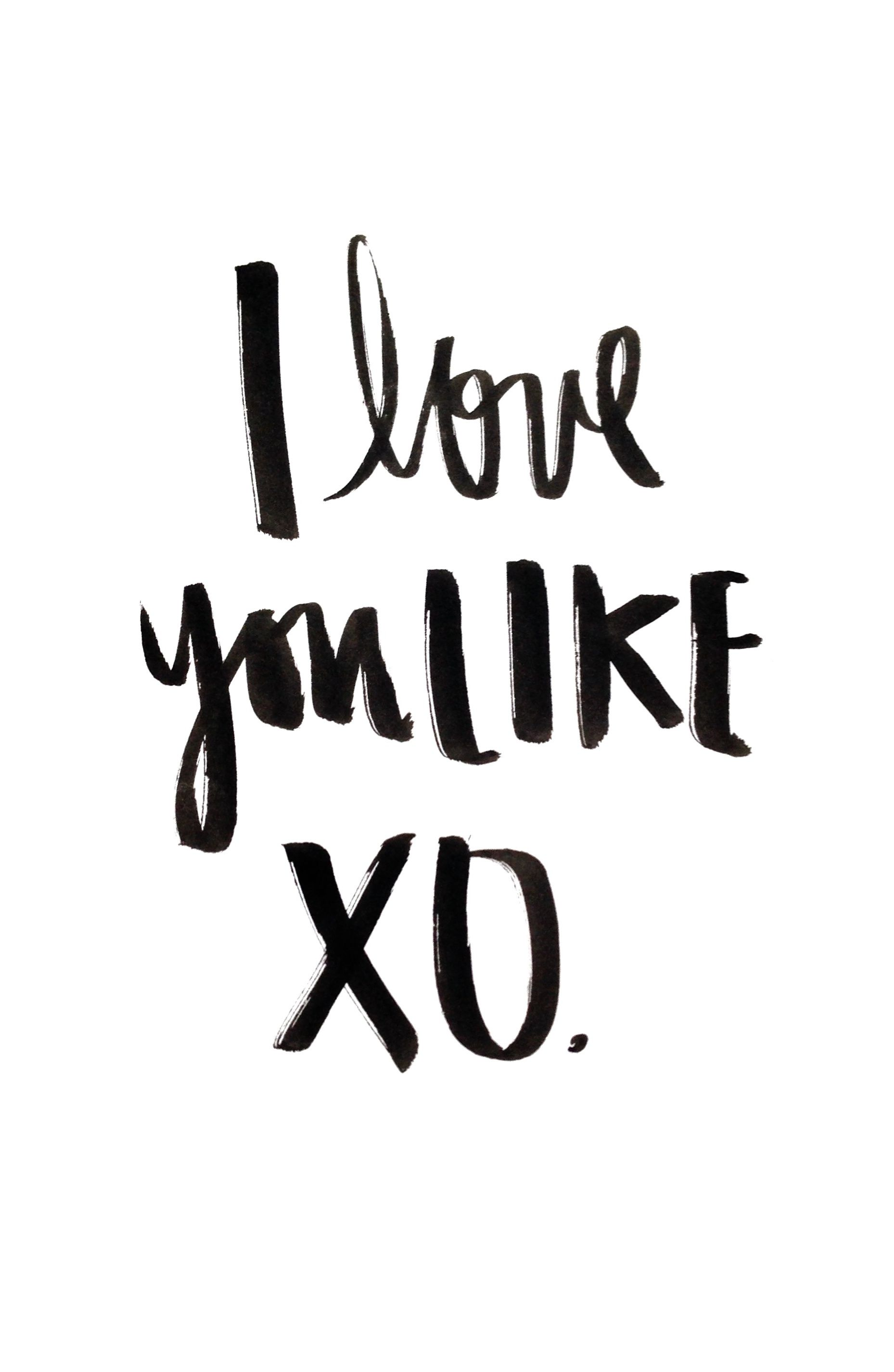 I Love You Like XO You Love Me Like XO Beyonce lyrics John