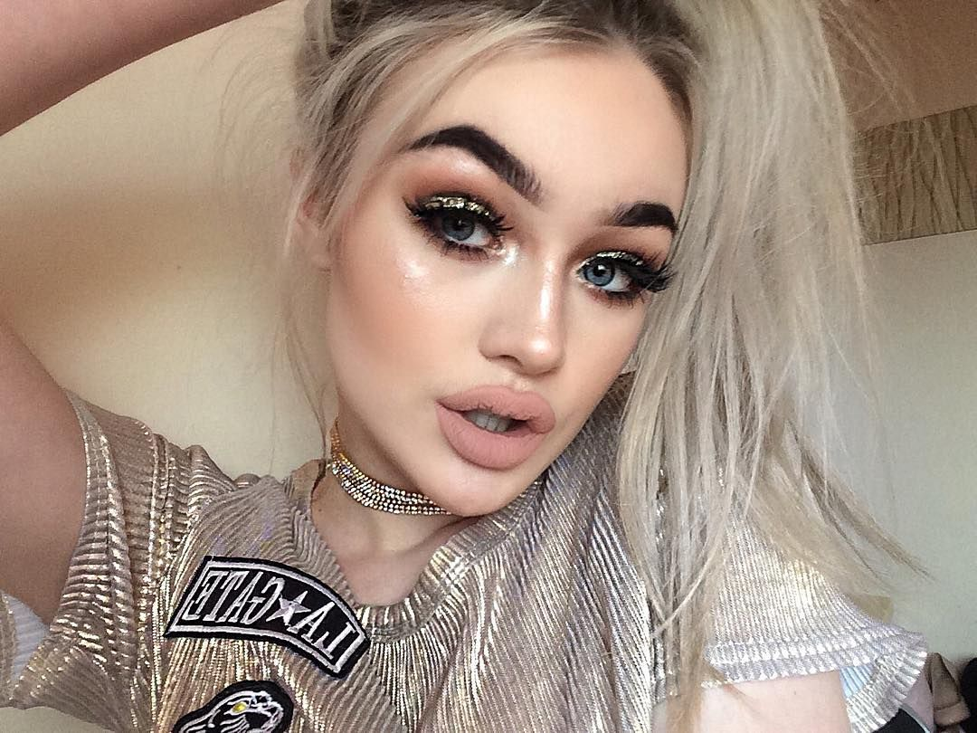 Sparkle shine glitter hair and makeup feathers shimmer - Feather Brows Arabic Makeup Feathers Women S Beauty Gold Eyes Pretty Girls Baddies Selfies Rainbow