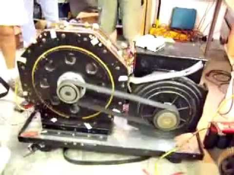 Magnetic motor driving electric generator alternative energy - comment economiser l electricite a la maison