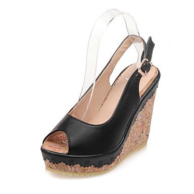 Women's Shoes Wedge Heel Peep Toe Platform Sandals More Color Available  5021518 2017 – $34.99