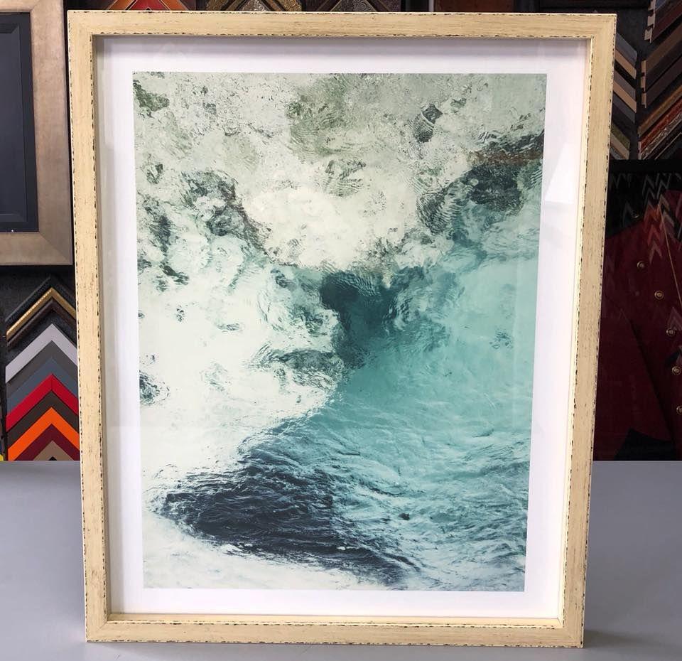 Photography custom framed with UV glass and Komodo frame by Larson ...