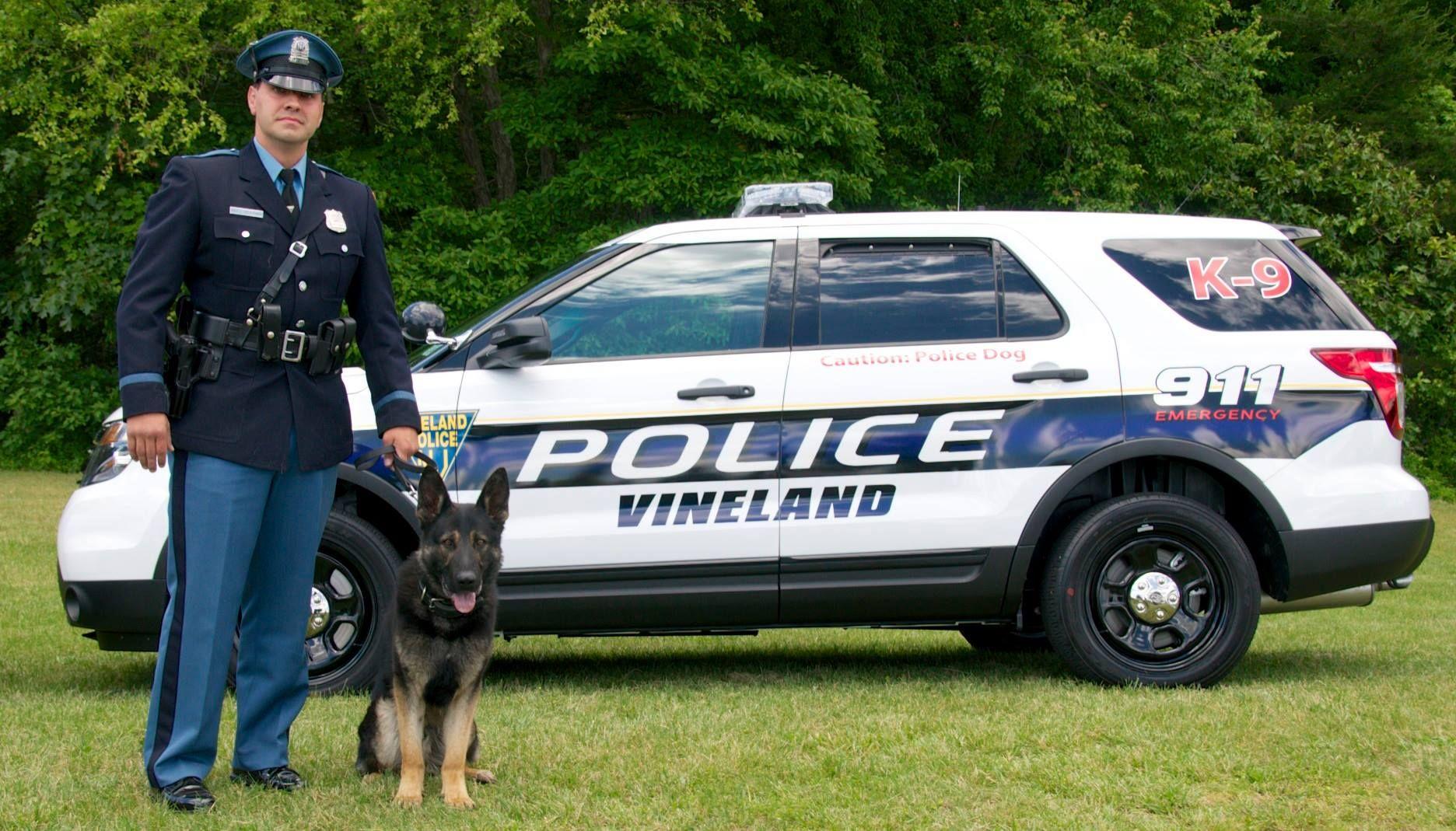 Vineland Pd K 9 Officer