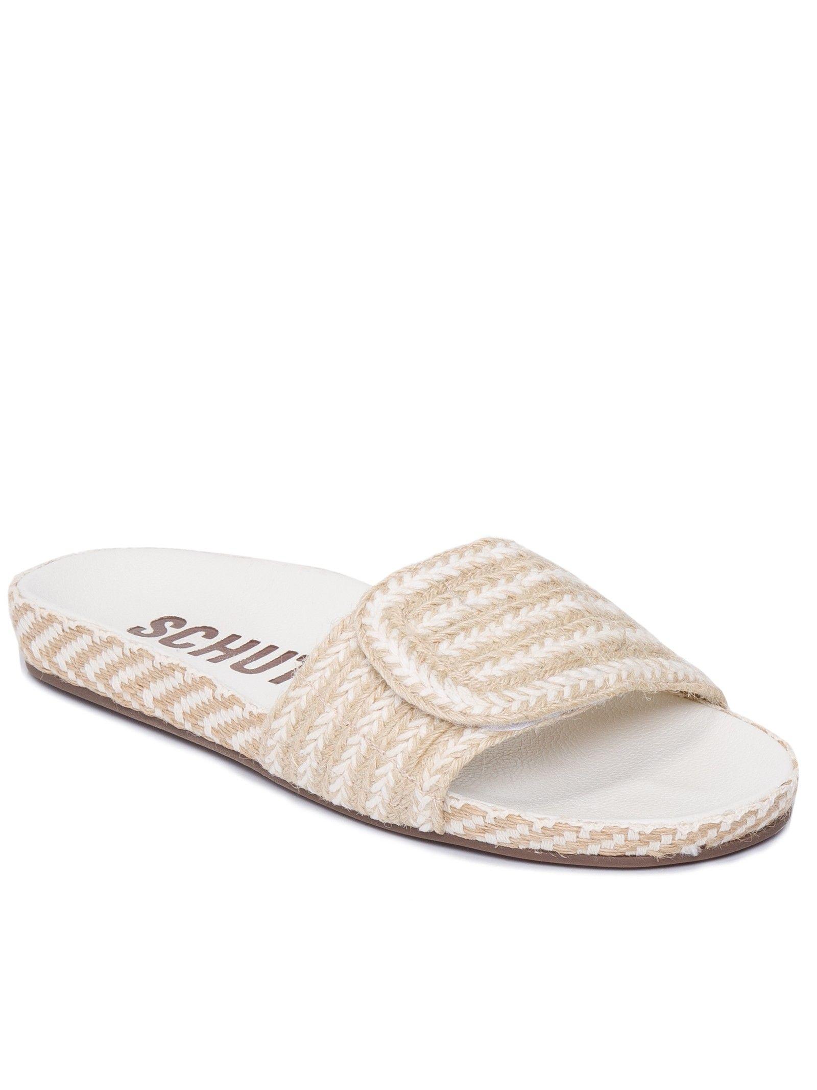 7c0255620 Sandália Feminina Slide High Summer - Schutz - Bege - Shop2gether ...
