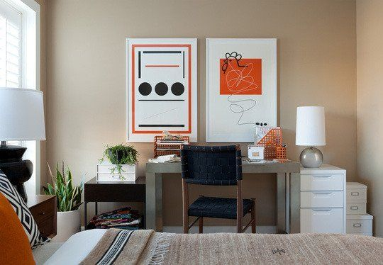 Room Inspiration Shared Office Guest Rooms Guest Bedroom Office Small Guest Bedroom Bedroom Office Combo