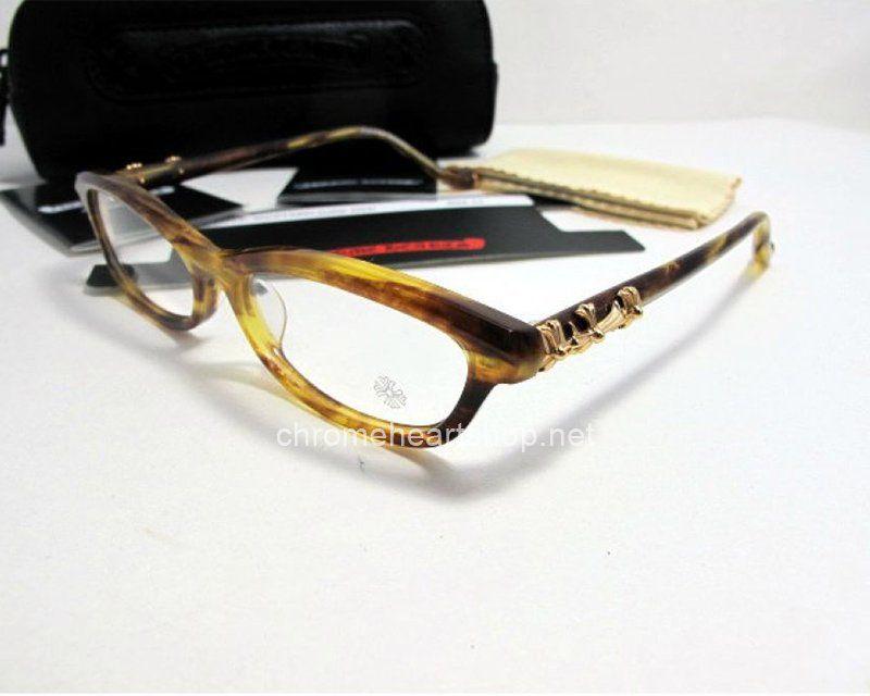 Cheap Fashion Chrome Hearts Love Mustard Eyeglasses DTB Hot Sale ...
