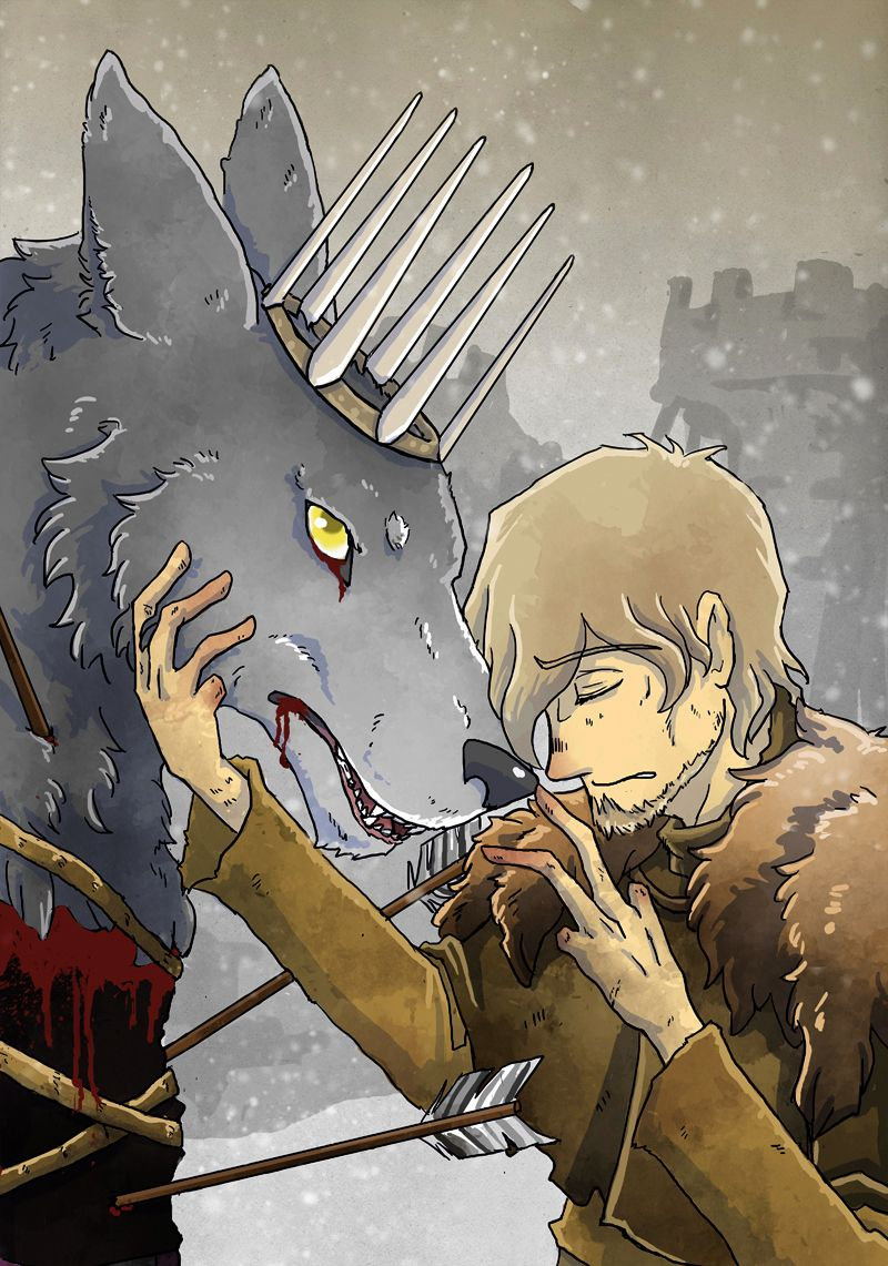 The Young Wolf And The Turncloak By Thrumugnyr Fogo E Gelo