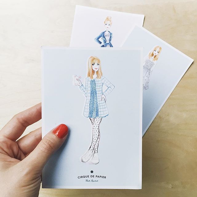 eleonorebridgeI love that cute illustration of me by @cirquedepapier Thank you si much !