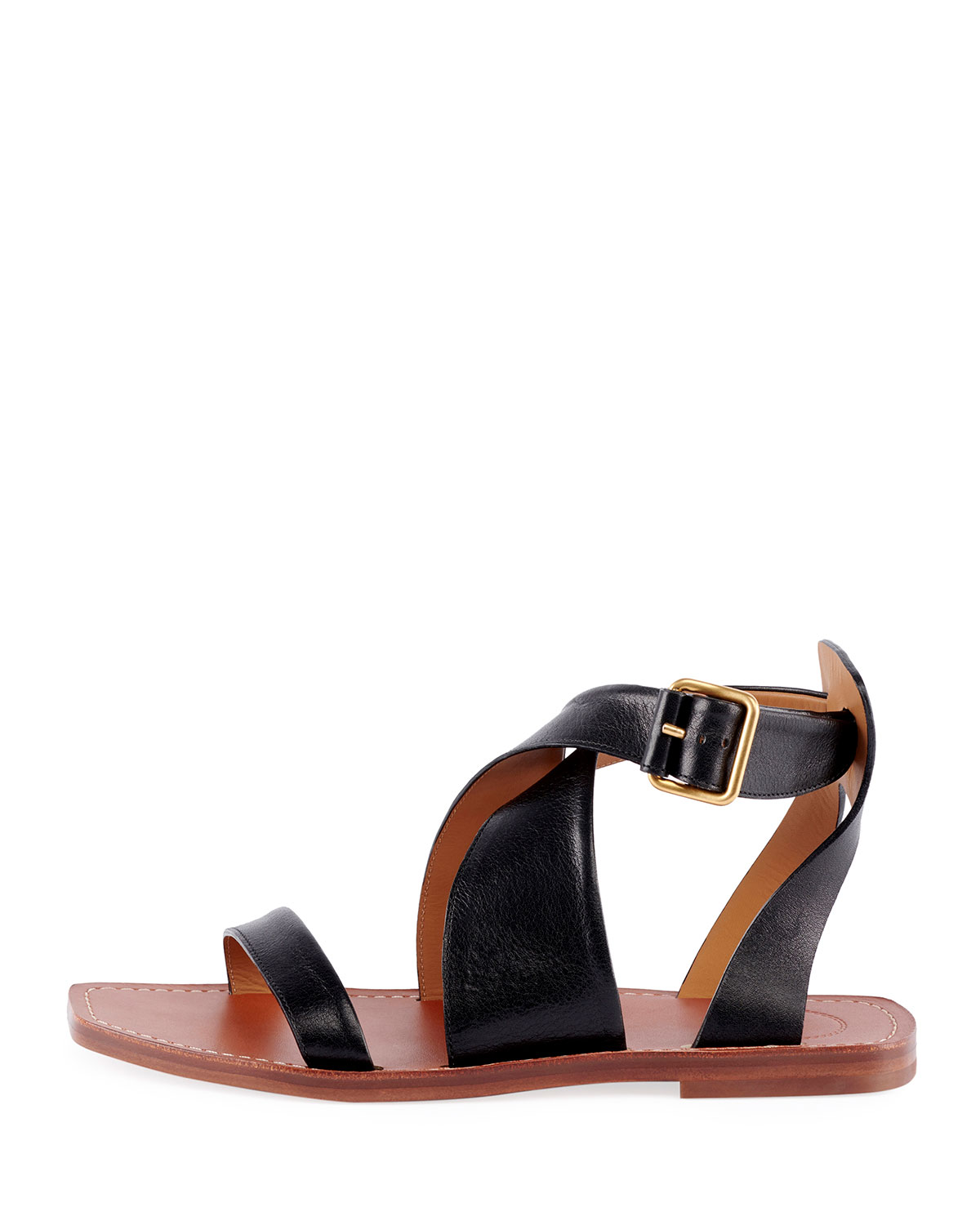 7705cfe3ddf79 Chloé Virginia Flat Strappy Sandals in 2019 | Products | Sandals ...