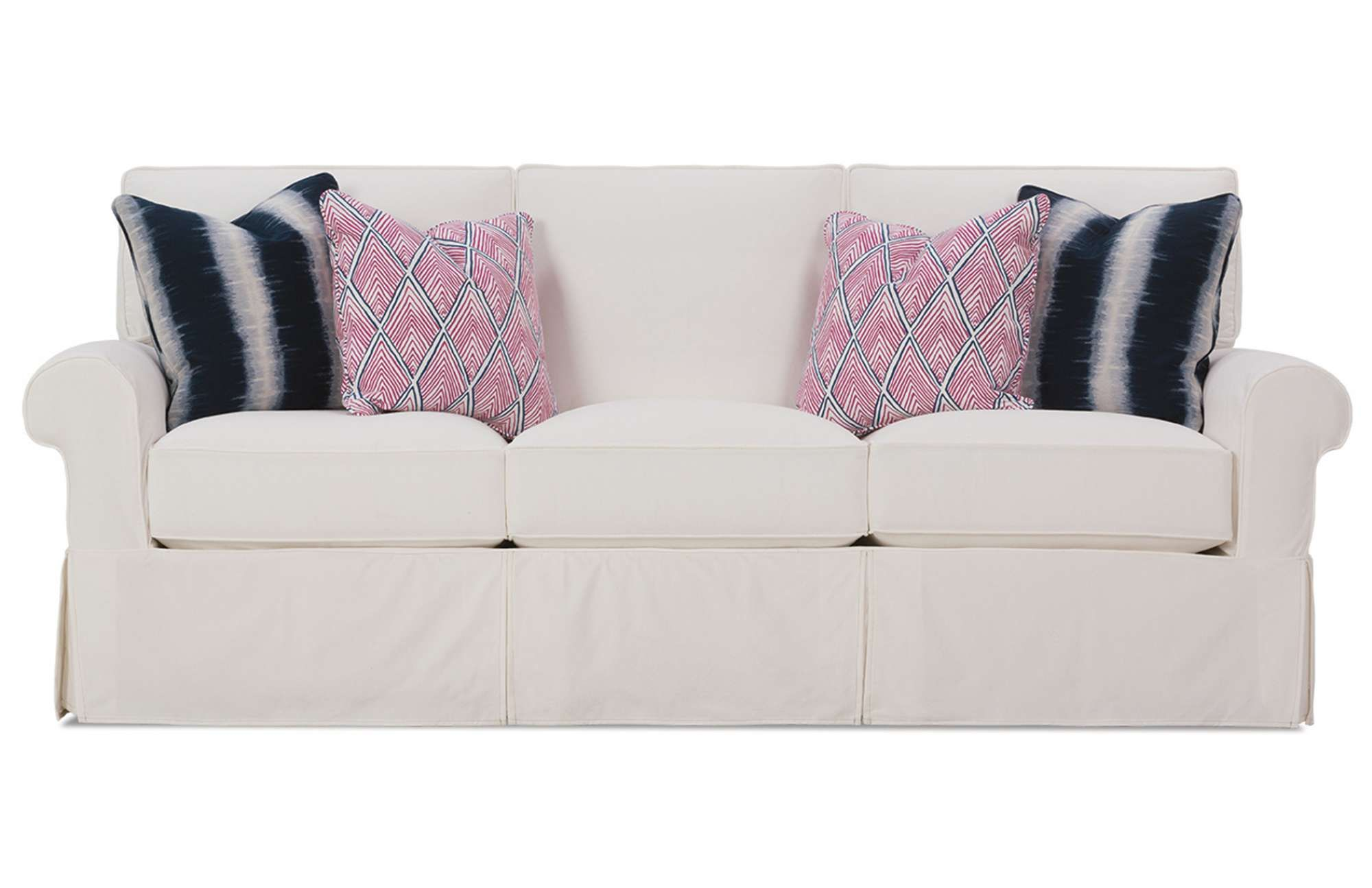 With Top Of The Line Upholstery And A Modern Design, The Easton Slipcover  Sofa Is A Must Have For Any Home.