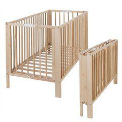 lit en bois pliable matelas draps housse tatina lit compact b b lits et location. Black Bedroom Furniture Sets. Home Design Ideas