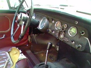 MG Midget 1965 interior