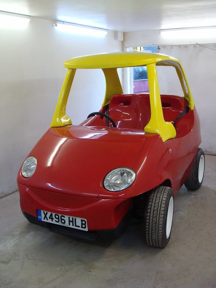 Toy Cars That You Can Drive >> Yup Now You Can Drive A Grown Up Version Of The Cozy Coupe Toy
