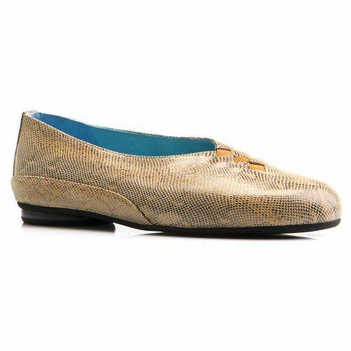 Cool Thierry Rabotin Grace Ballet Flat Honey Snake Print