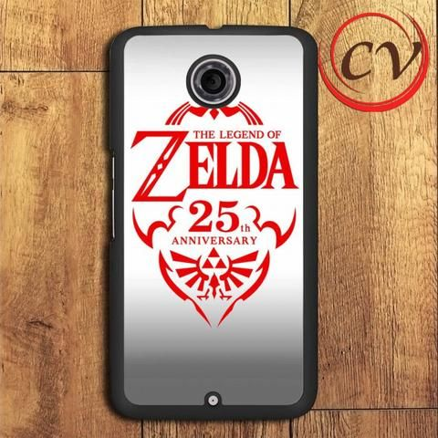 Zelda 25th Anniversary Nexus 5,Nexus 6,Nexus 7 Case