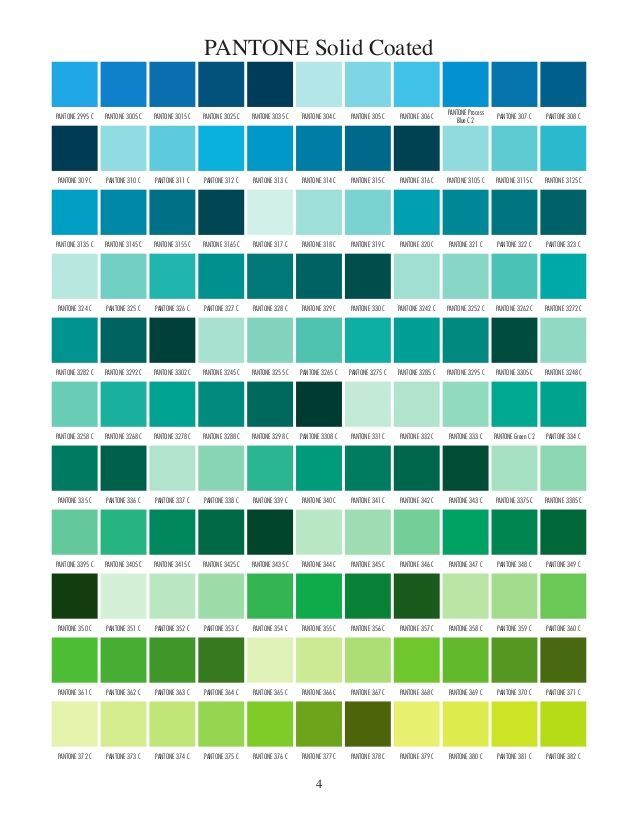 Pantone Solid Coated Pantone Color Chart Pantone Solid Coated Pantone