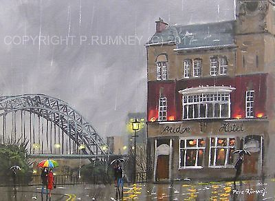 PETE RUMNEY FINE ART ORIGINAL PAINTING CANVAS PICTURE