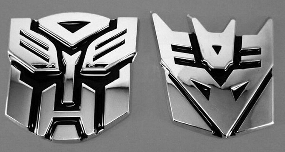 Autobot Transformers Emblem Badge 3D Logo Protector Graphics Decal Car Sticker