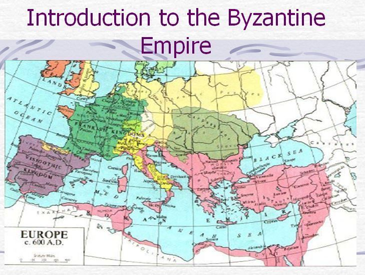 Byzantine Empire Powerpoint Cloze Notes Sheet Chart Map