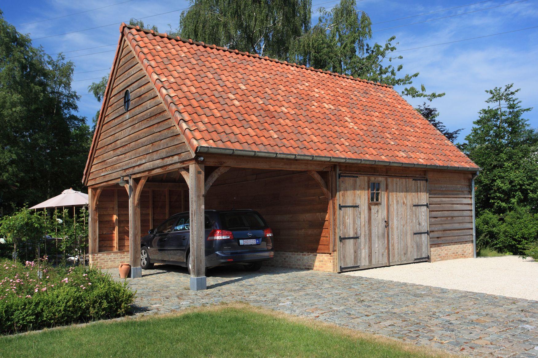 Carports & garages t landhuys voor het huis pinterest