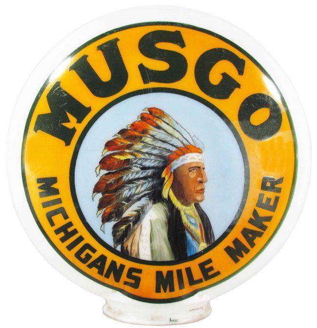 MUSGO GAS PUMP GLOBE
