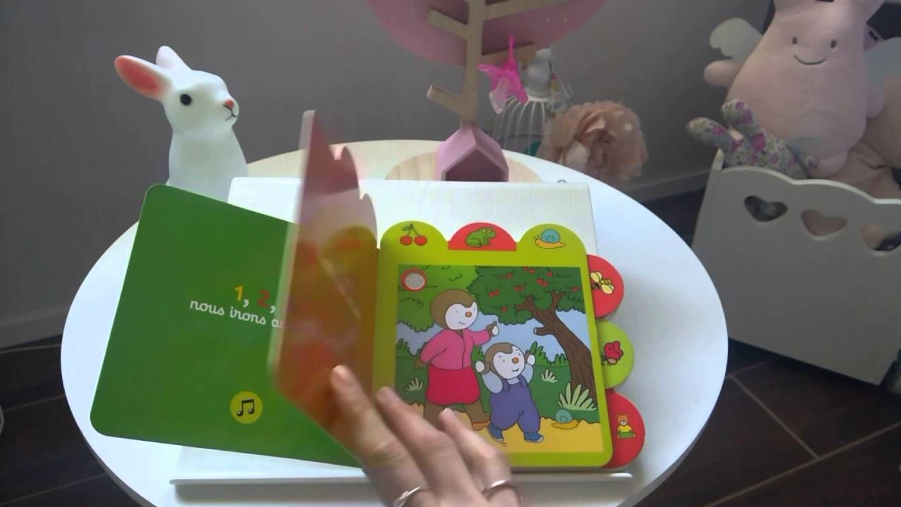 Chante Avec T Choupi 1 2 3 Nous Irons Au Bois Editions Nathan Livre Jeunesse Enfants Bebe Sonore Comptines Chansons Eveil Musical Children B