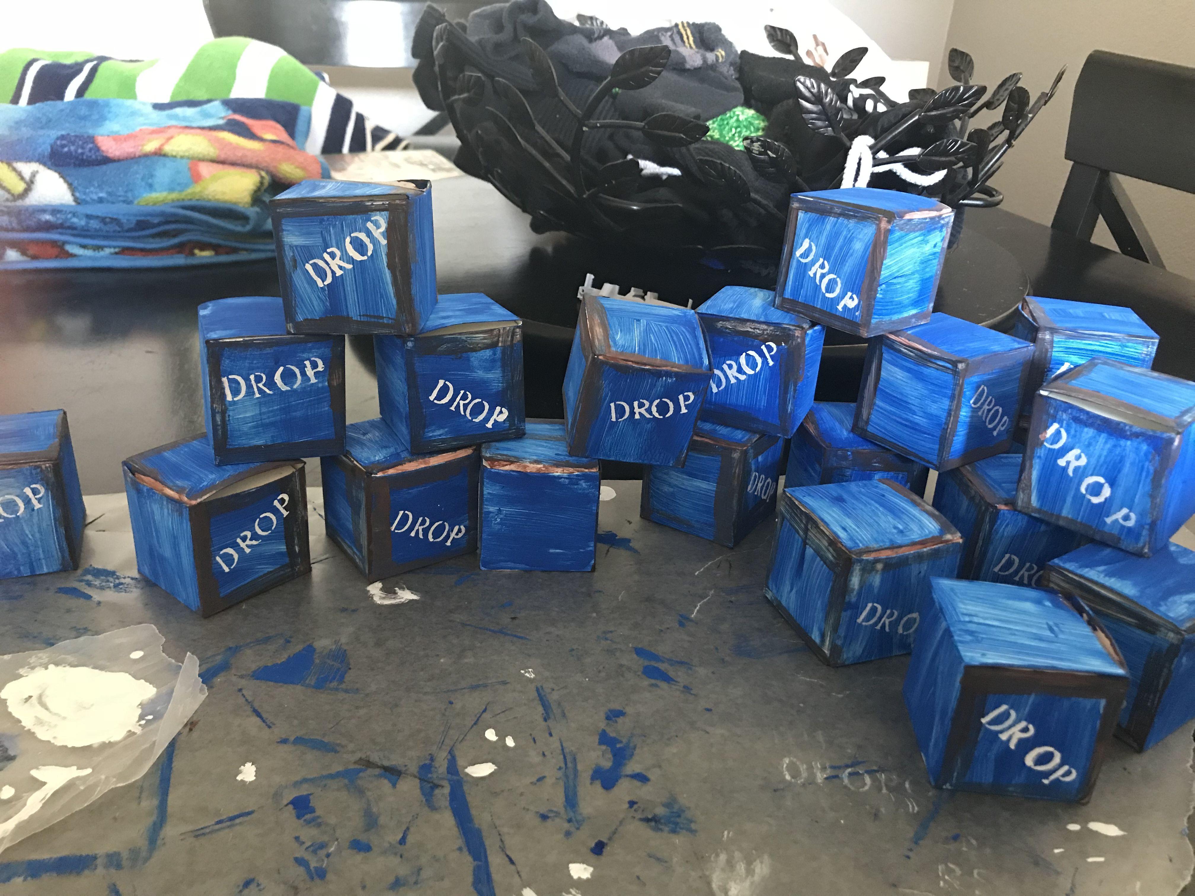 Fortnite Birthday boxes