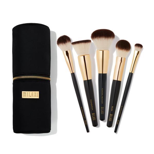 The Essential Makeup Brush Set INSIDE THE BUNDLEWe've