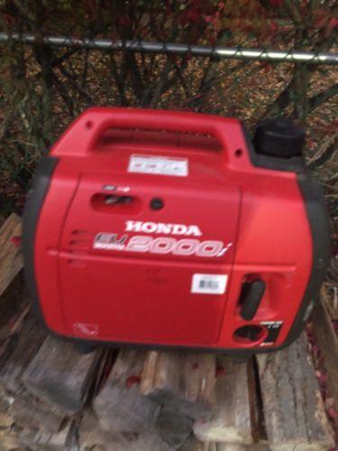 Honda EU2000i 2000 Watt 3.5 HP Generator