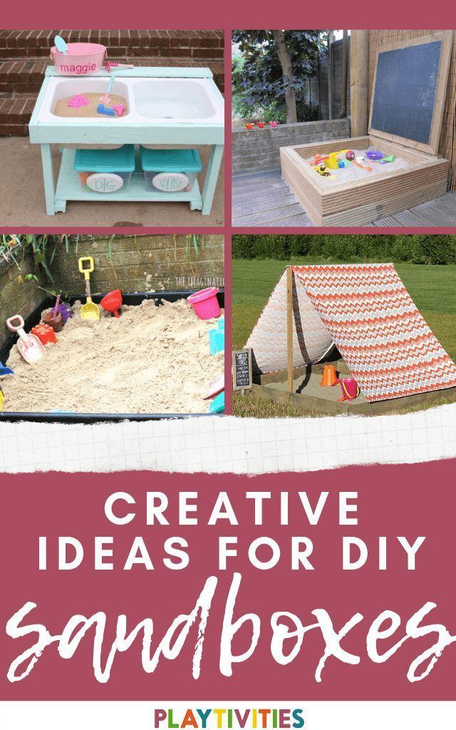 20 Creative DIY Sandbox Ideas - Backyard Activites ideas ...