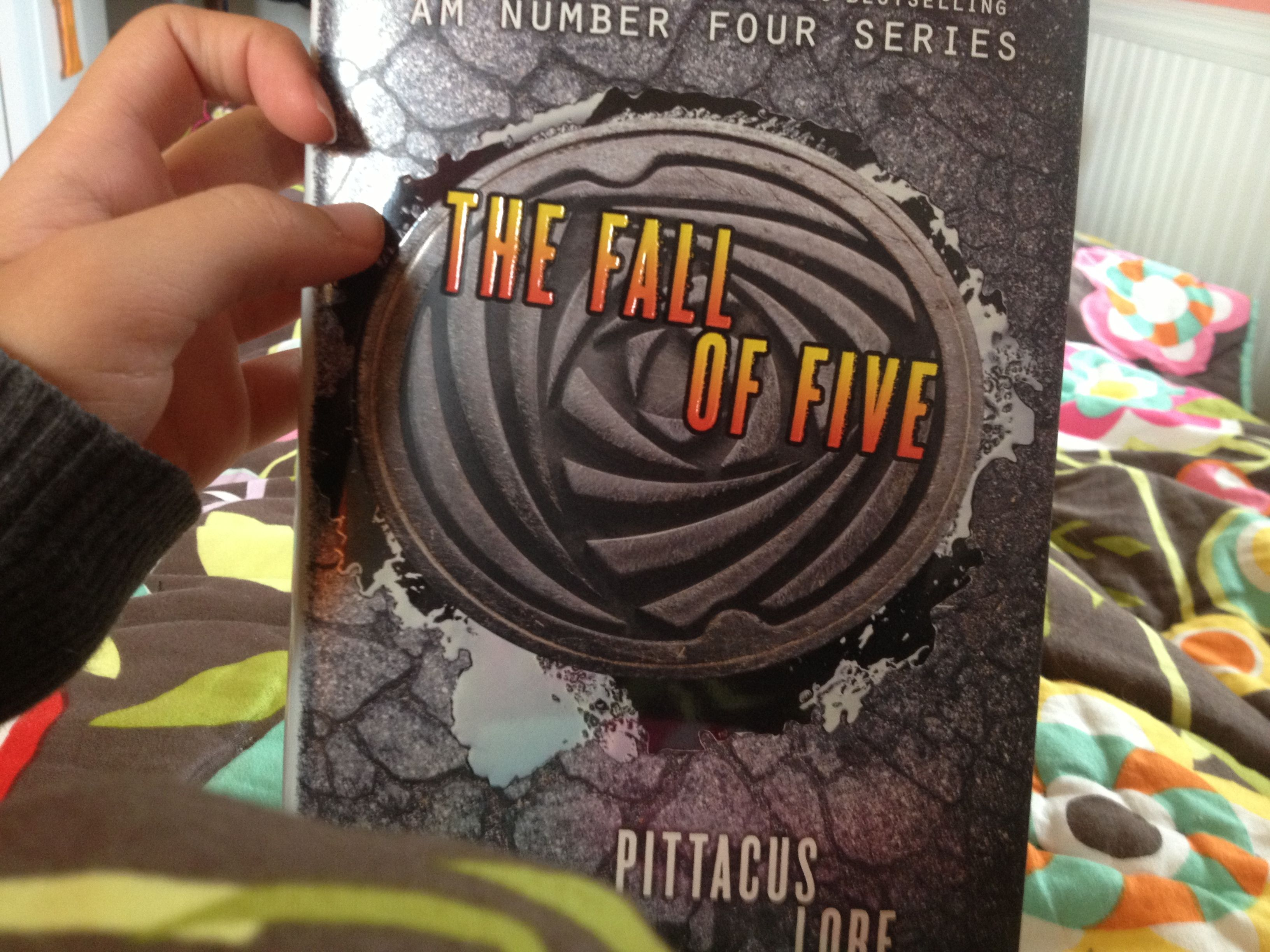 Fall of five got the book today cx