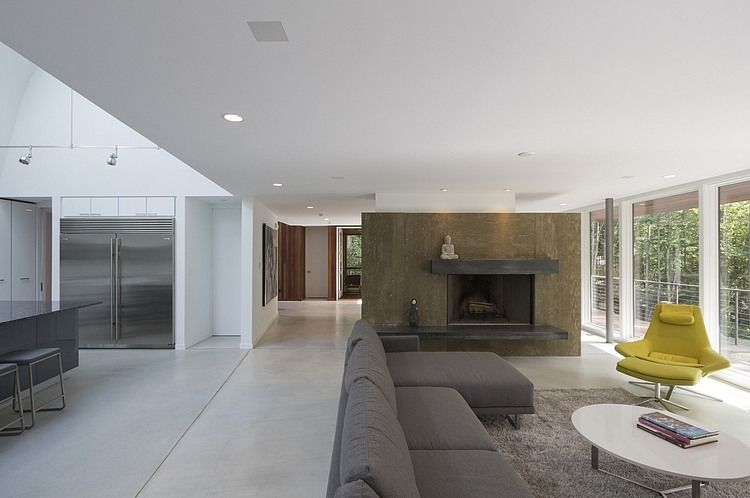 Berkshire Pond House by David Jay Weiner Architects Minimalist