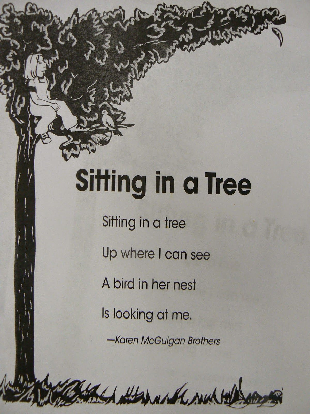 Mrs T S First Grade Class Poetry In Partners