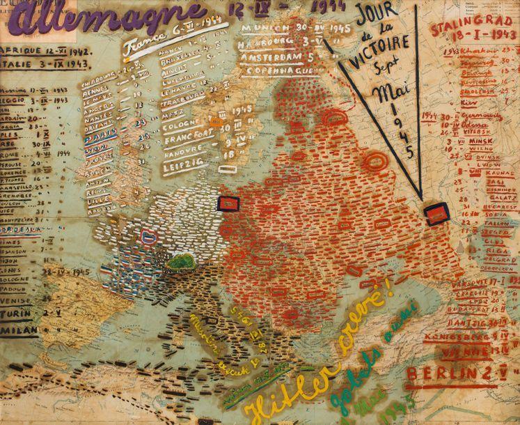 Moise Kisling Cracovie 1891 Sanary Sur Mer 1953 Carte Des