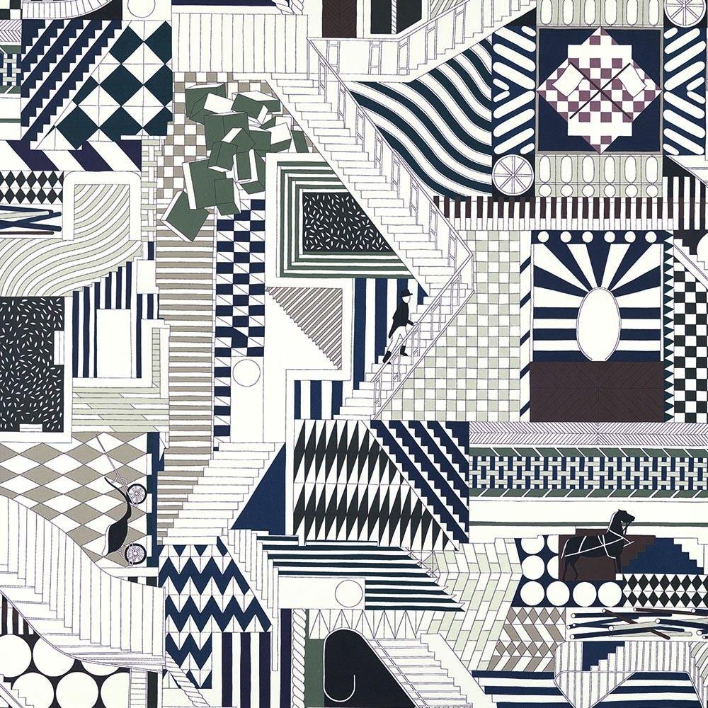 PROMENADE AU FAUBOURG Hermès Home, Fabrics   Wallpapers, Collection 2016 17 9631f7e3552