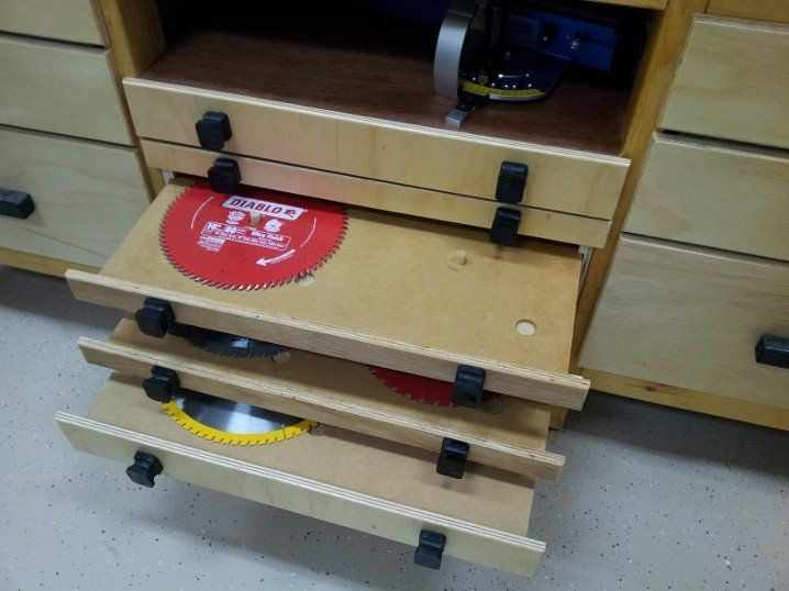 Saw blade storage - by hotncold @ LumberJocks.com ~ woodworking community