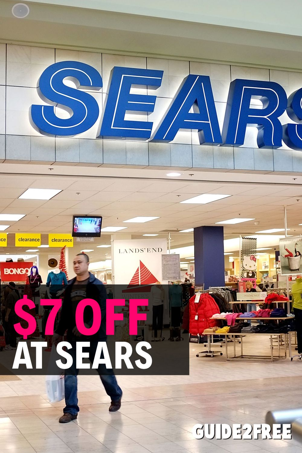 Free 10 Off At Sears Sears Best Money Saving Tips Money Saving Tips