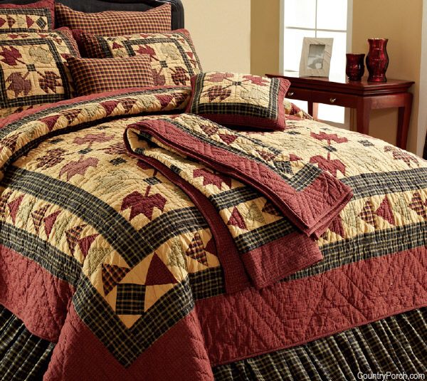 Pin by Maria Johnson on Sew | Quilts, Quilt bedding, Fall quilts