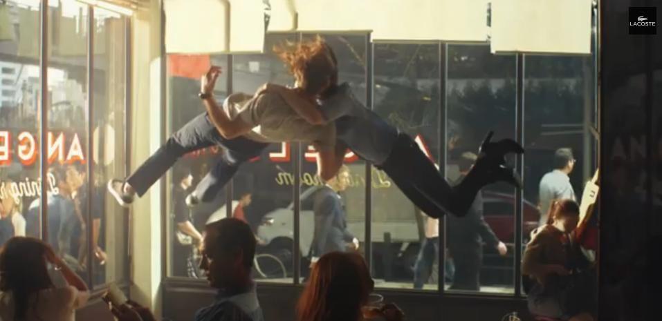 """""""El gran salto"""" de Lacoste #TheBigLeap #Lacoste #Advertising #Publicidad"""