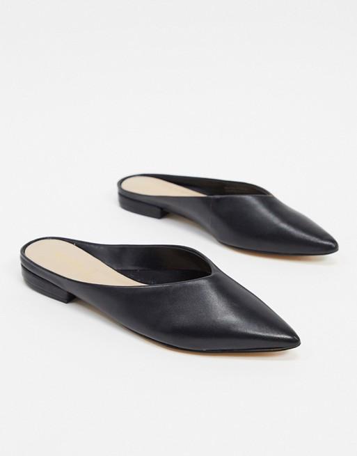 ALDO Nirasa mule flat shoe in black