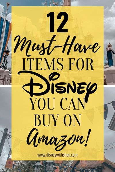 Amazon has some amazing products for you to buy for your Disney vacation! Check them out now! These items will save you money one in the parks! #disney #disneytips #disneywallpaper #disneyvacation